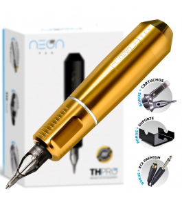 Máquina Rotativa Neon Pen TH PRO - Amarelo Gold