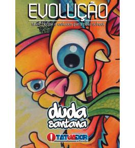 Sketchbook Evolução - Duda Santana  -