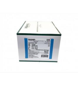 Caixa de cateter Polymed (100 unidade) 22G