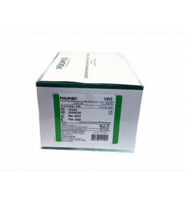 Caixa de cateter Polymed (100 unidade) - 18G
