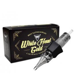 Cartucho White Head Gold - Traço RL - 035mm - Caixa com 20 Unidades