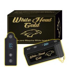 Fonte Bateria White Head Gold