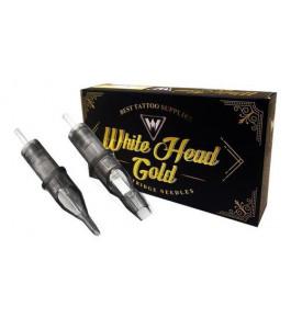 Cartucho White Head Gold - Pintura Curvada RM - De 7RM a 17RM - 030mm - Caixa com 20 Unidades