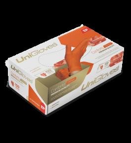 Caixa de luva Unigloves - Conforto Orange
