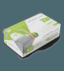 Caixa de luva Unigloves - Lano-E Green