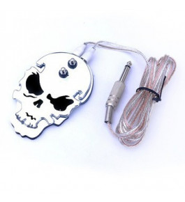 Pedal chapa fina Skull P10