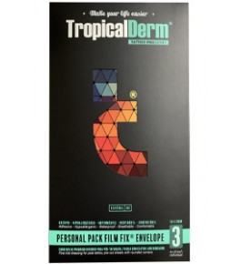 Envelope TropicalDerm - 3 folhas - 10cm x 20cm