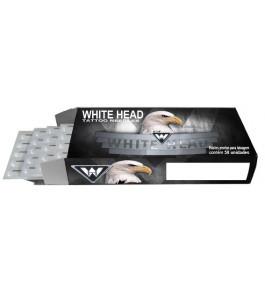 Agulha White Head - Traço RL - 035mm - Caixa com 50 Unidades