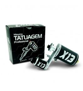 Maquina Tatuagem Tattoo Rotativa X13 - Preta