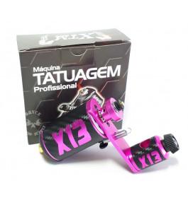 Maquina Tatuagem Tattoo Rotativa X13 - Rosa